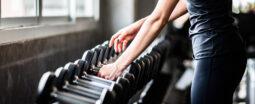 trening v fitnes centru